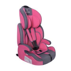 Seguro Bebe Bravo Isofix Pink on Grey 2