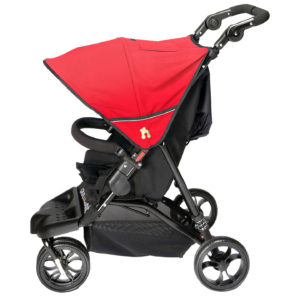 Out N About Little Nipper Single - Poppy Red