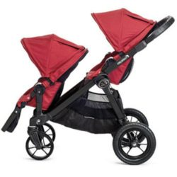Baby Jogger City Select Second Seat Unit red 2