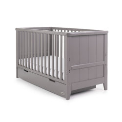 Obaby Belton Cot Bed - Taupe Grey
