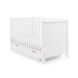 Obaby Belton Cot Bed - White