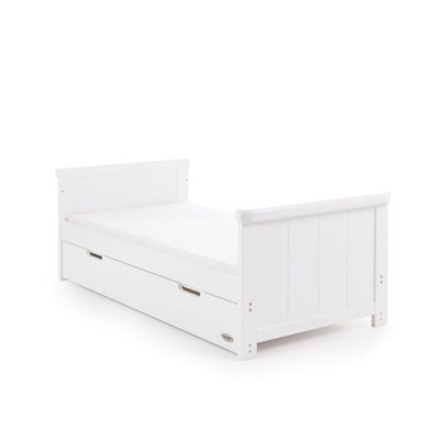 Obaby Belton Cot Bed - White 5