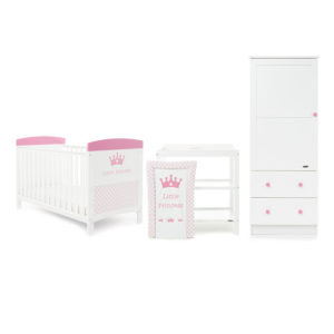 Obaby Disney Inspire 3 Piece Room Set and Changing Mat - Little Princess 2