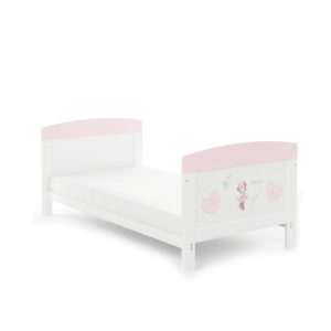 Obaby Disney Inspire Minnie Mouse Cot Bed - Hearts 2