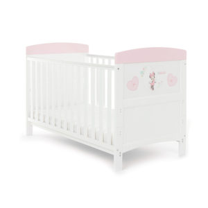 Obaby Disney Inspire Minnie Mouse Cot Bed - Hearts