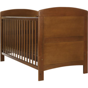 Obaby Grace Cot Bed - Walnut
