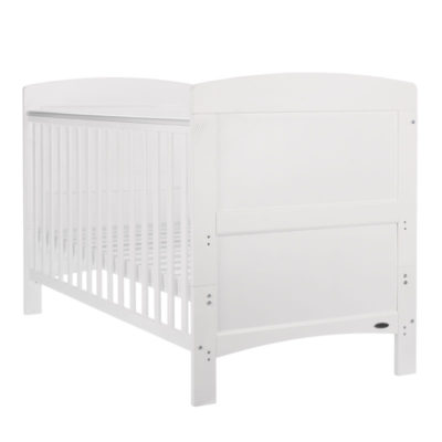 Obaby Grace Cot Bed - White