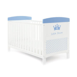 Obaby Grace Inspire Cot Bed - Little Prince