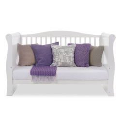 Obaby Ingham Sleigh Cot Bed - White 6