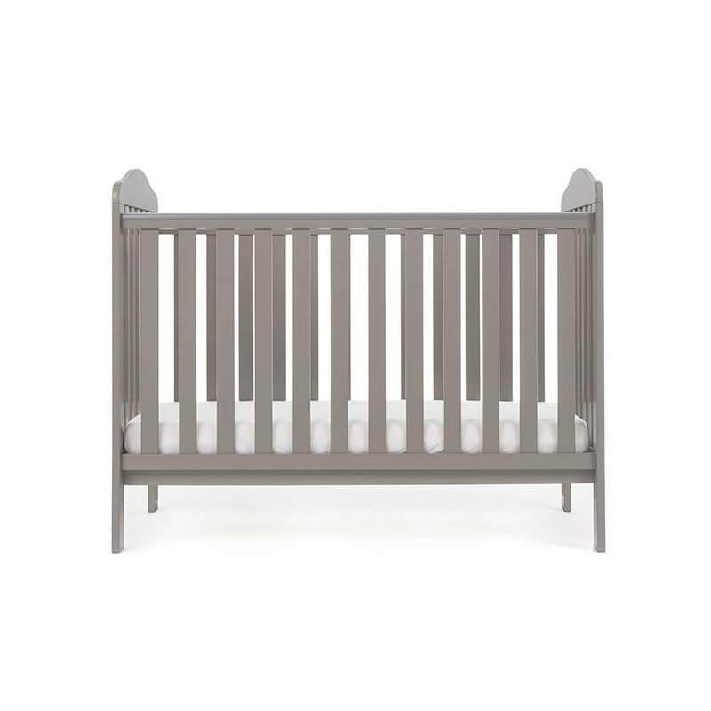 Obaby Ludlow Cot - Taupe Grey 3