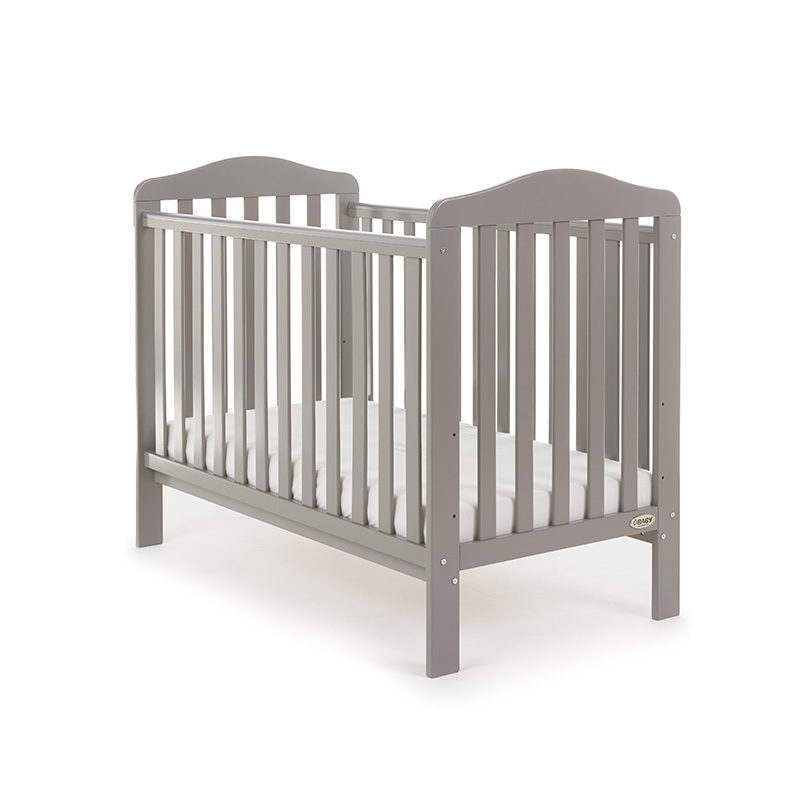 Obaby Ludlow Cot Taupe Grey