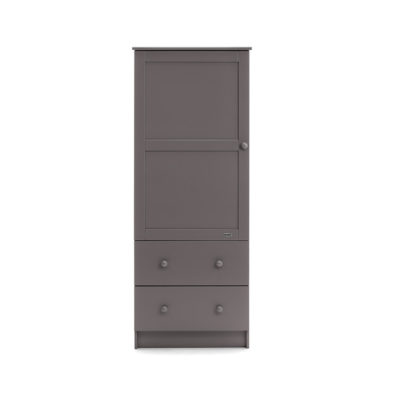 Obaby Single Wardrobe - Taupe Grey