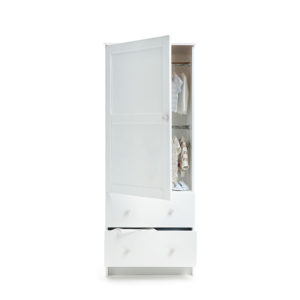 Obaby Single Wardrobe - White 2