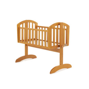Obaby Sophie Swinging Crib - Country Pine