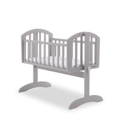 Obaby Sophie Swinging Crib & Mattress Warm Grey