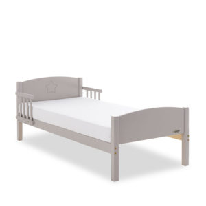 Obaby Star Toddler Bed - Warm Grey
