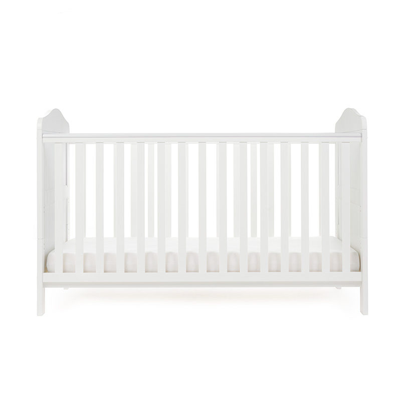 Obaby Whitby Cot Bed - White 3