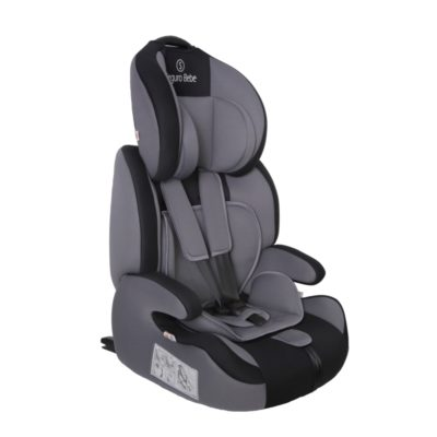 Seguro Bebe Bravo Isofix Grey on Black 2