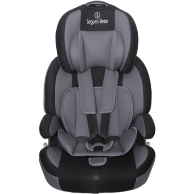 Seguro Bebe Bravo Isofix - Grey on Black