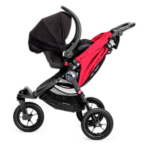 baby jogger city elite stroller red 2