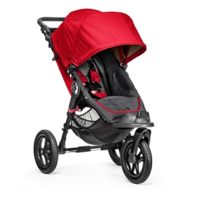 baby jogger city elite stroller red