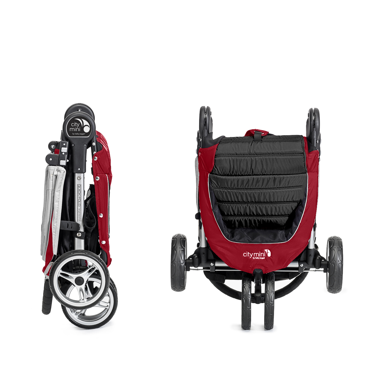 Baby Jogger City Mini Single Crimson