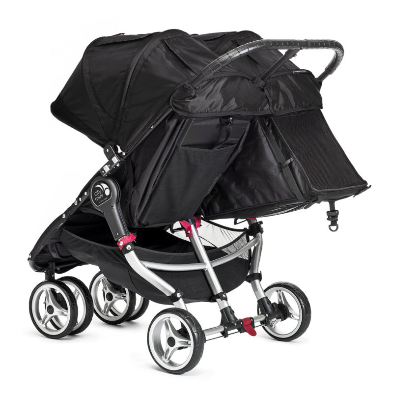 baby jogger city mini double black 3
