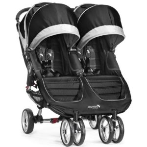 baby jogger city mini double black