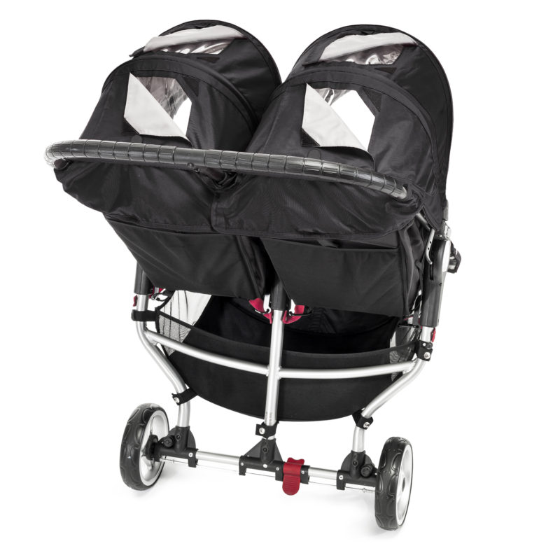 baby jogger city mini double black 4