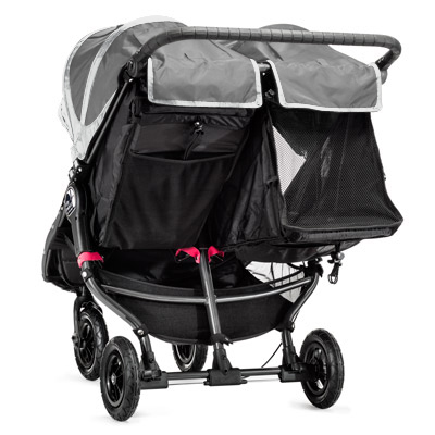 baby jogger city mini gt double steel grey 4