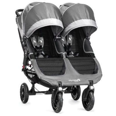 baby jogger city mini gt double steel grey