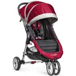 baby jogger city mini single crimson