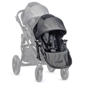 baby jogger city select add on seat unit charcoal denim