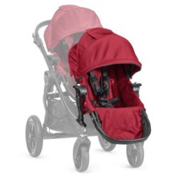 baby jogger city select additional seat unit red