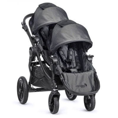 baby jogger city select charcoal denim 2