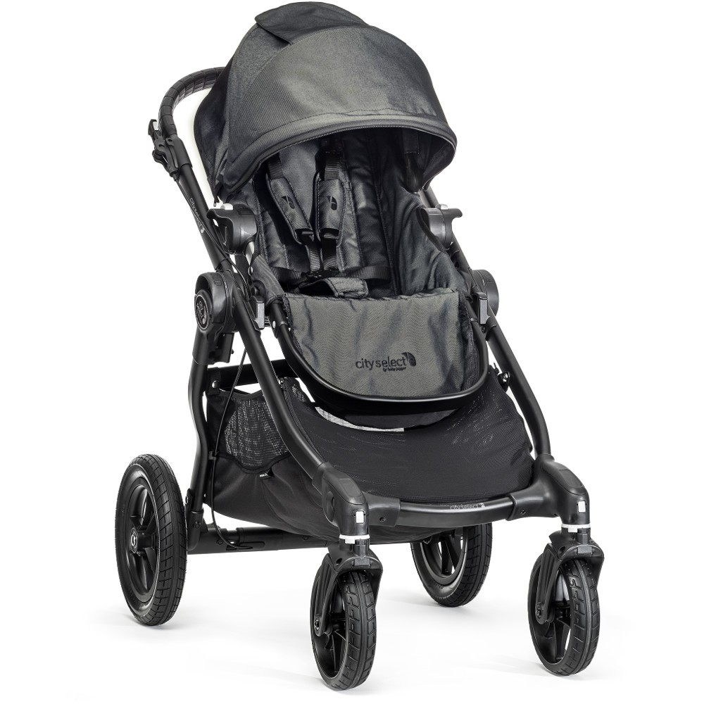 Baby Jogger City Select Tandem Double Stroller Package