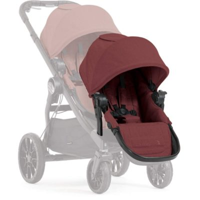 baby jogger city select lux add on seat unit port