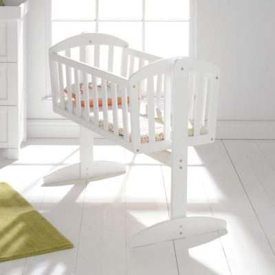 East Coast Vienna Swinging Crib - White