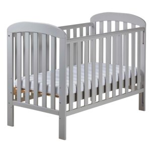 East Coast Anna Dropside Cot - Grey