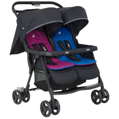 Joie Aire Twin Stroller - Rosy and Sea