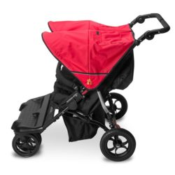 Out N About Little Nipper Double - Poppy Red