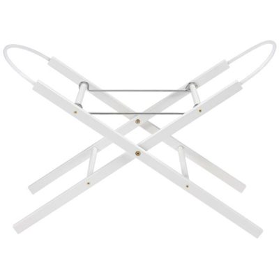 East Coast Moses Basket Stand White