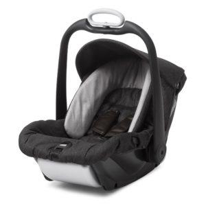 mutsy evo industrial safe2go car seat charcoal