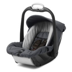 mutsy evo industrial safe2go car seat lava grey