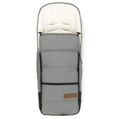 mutsy evo nomad footmuff light grey