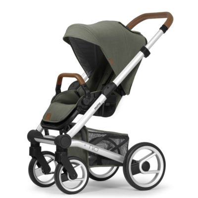 mutsy nio adventure see green pushchair silver frame