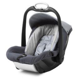 mutsy safe2go car seat 0+ pure cloud
