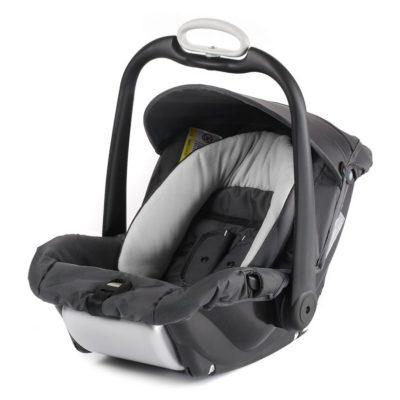 mutsy safe2go car seat evo dark grey