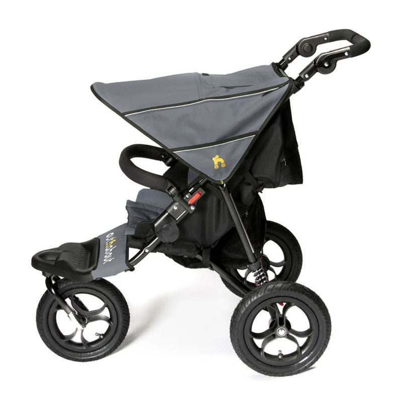 Out N About Nipper Single V4 - Steel Grey