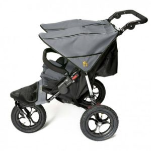 Out n About Nipper Double V4 - Steel Grey